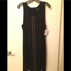 Studded stretchy jersey material dress.